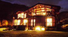 Chalet at Night